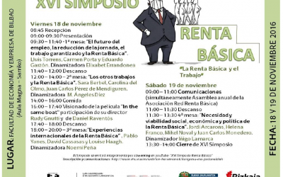 La renta básica incondicional irrumpe en las elecciones vascas