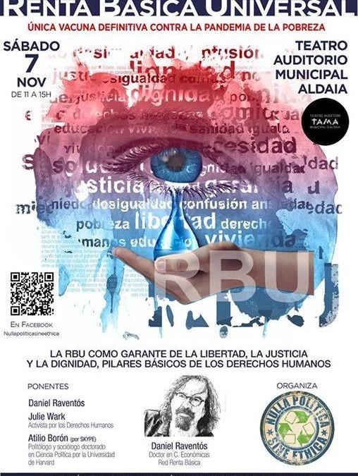 """""""RBU, única vacuna definitiva contra la pandemia de la pobreza"""""""