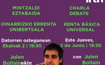 En Euskadi se puede y debe garantizar la existencia a toda la ciudadanía