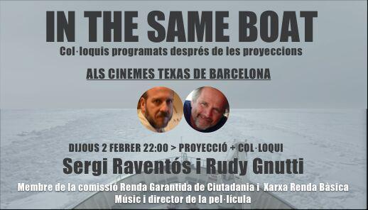 In The Same Boat. Cine Texas, Barcelona