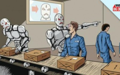 Renta básica universal: ¿una alternativa viable para 'vencer a los robots'?