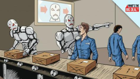 Automatización, renta básica universal e imposición a los robots