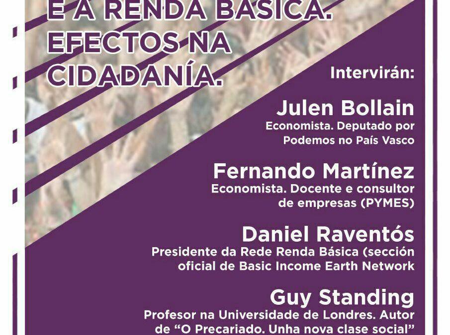 Jornadas sobre la Renta Básica de PODEMOS el 14 y 15 de octubre