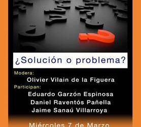 Mesa redonda en Zaragoza sobre la Renta Básica: miércoles 7 de marzo